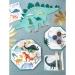 8 Assiettes - Royaume des Dinosaures. n°2