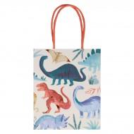 8 Pochettes Cadeaux Royaume des Dinosaures