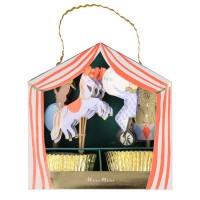 Contient : 1 x Kit Déco Cupcakes - Cirque