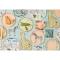 8 Assiettes Guépard - Savane images:#1