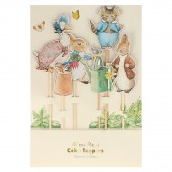 Cake Toppers - Pierre Lapin
