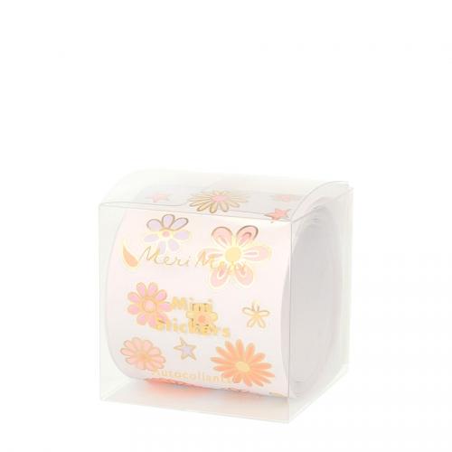 500 Minis Stickers - Flower Power
