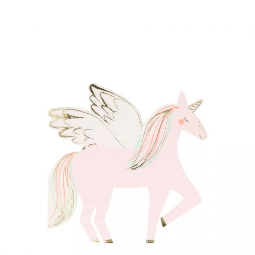 16 Petites Serviettes - Sweet Licorne