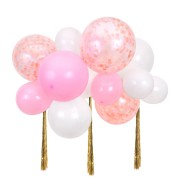 Kit - Nuage de Ballons Roses