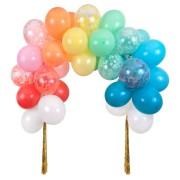 Kit Arche Ballons Nuage Arc-en-Ciel