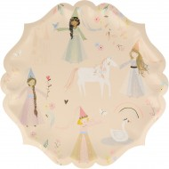 8 Assiettes Princesse Magique
