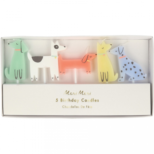 5 Bougies Chiens
