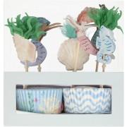 Kit Cupcakes Sirènes