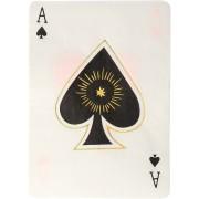16 Serviettes Cartes à jouer Magie