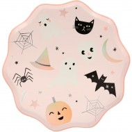8 Assiettes Halloween Pastel