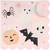 16 Serviettes Halloween Pastel