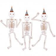3 Squelettes Géants à Suspendre - 1,50m