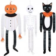 3 Décorations à Suspendre - Halloween Vintage