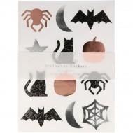 Set de 10 Planches de Stickers Halloween Vintage