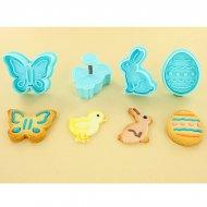 4 Emporte-pièces Poussoir motifs de Pâques