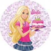 Disque en sucre Barbie
