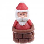 3 Pères Noël en Pâte d'amandes