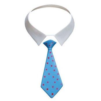 Col et cravate en plastique