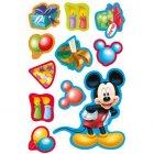 Set 11 décors Mickey Birthday en pâte à sucre