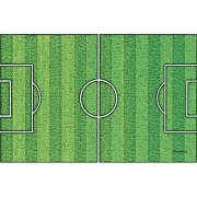 Plaque terrain de foot en azyme effet gazon
