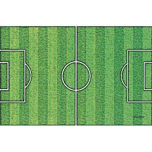 d603e5748b183 Plaque terrain de foot en azyme effet gazon pour l'anniversaire de ...