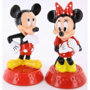 Grand kit d�cor � g�teau Mickey et Minnie