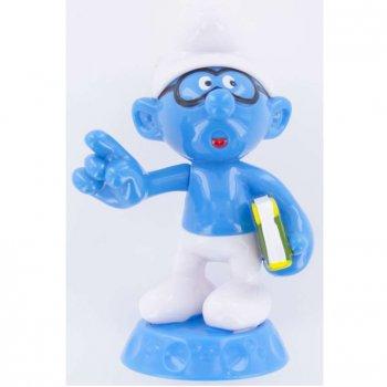 1 Figurine Schtroumpf sur socle - Plastique