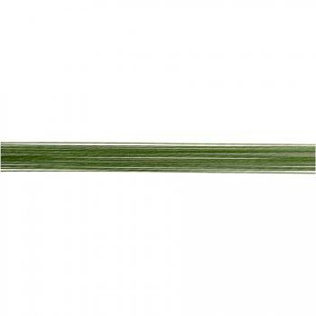 50 Tiges pour fleurs vertes 0.45 mm