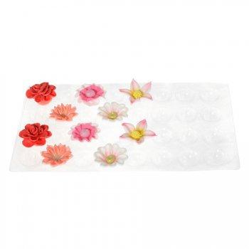2 Plaques supports pour modelage fleurs