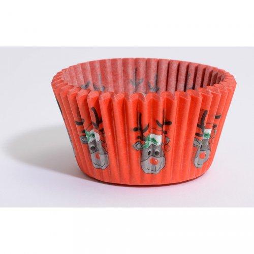 88 Caissettes à Cupcakes Renne