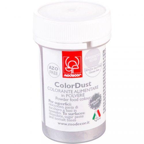 Colorant en poudre alimentaire Argent perlé liposoluble