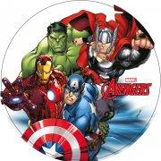 Disque en sucre Avengers Rassemblement