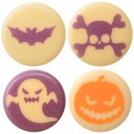 8 Mini décors en Chocolat Halloween
