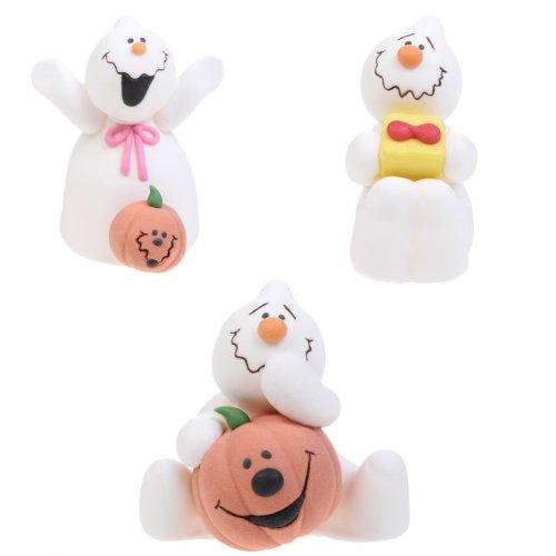 3 Figurines en Sucre Fantôme
