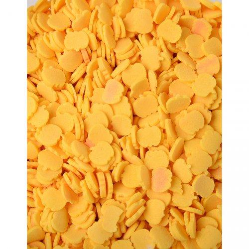 Confettis Citrouille en sucre
