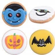 4 Biscuits D�cor�s Halloween