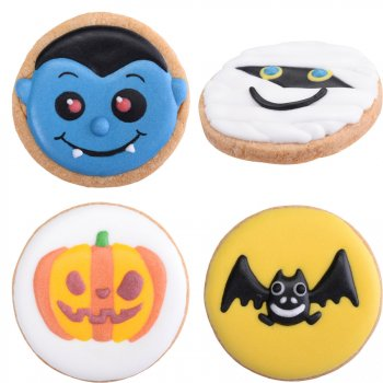 4 Biscuits Décorés Halloween
