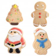 4 Bicuits Noël Fun