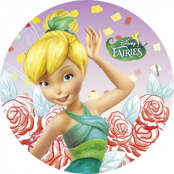 Disque azyme Fairies Fleurs