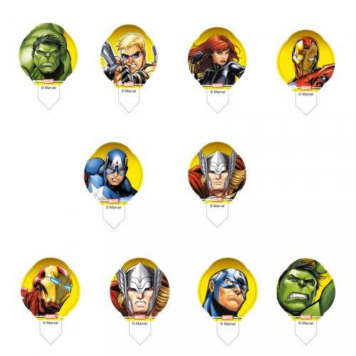 10 Pastilles en azyme Avengers
