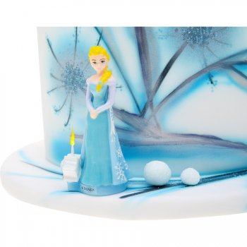 Bougie Figurine Reine des Neiges