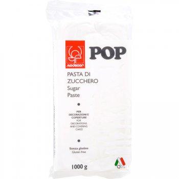Pâte à sucre Pop 1kg - Blanc