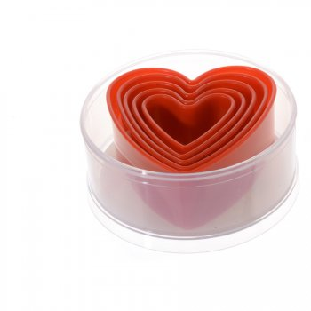 5 Emporte-pièces Coeurs