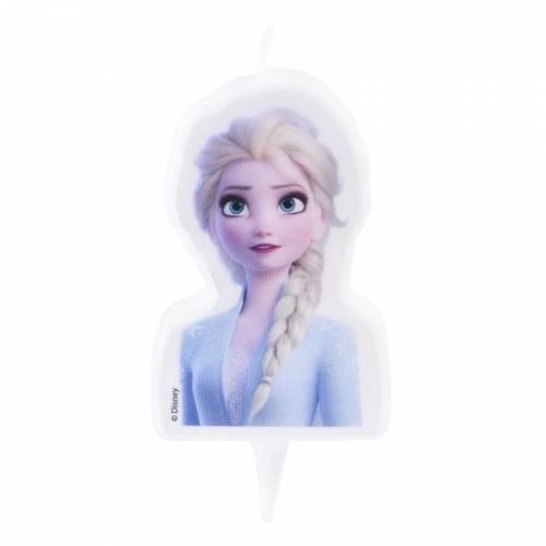 Bougie à piquer Elsa Reine des Neiges