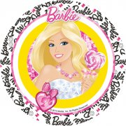 Disque en azyme Barbie Fashion
