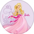 Disque en azyme Barbie Strass