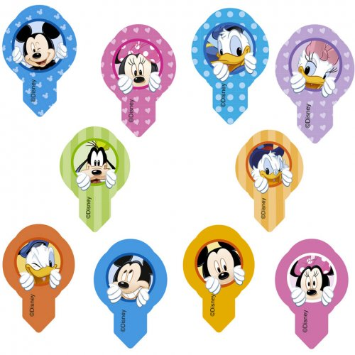 10 Pastilles Azyme Mickey et ses amis