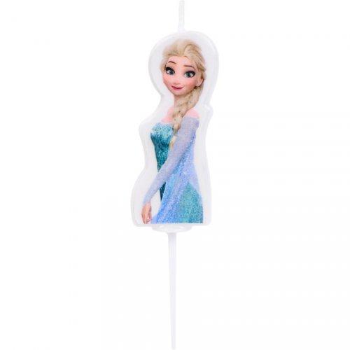 Petite Bougie à piquer Elsa Reine des Neiges