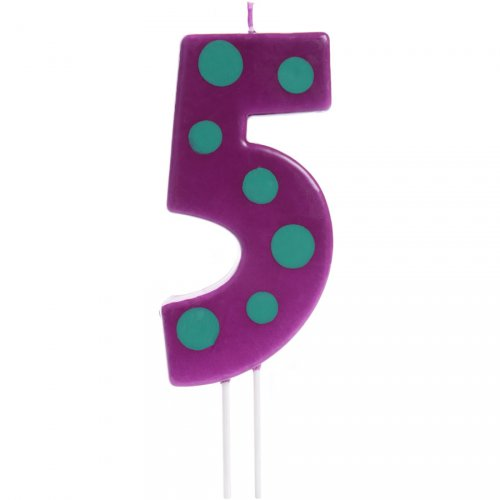 Big Bougie Party 5 (12 cm)