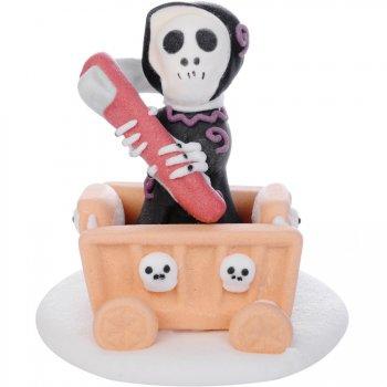 Squelette Faucheur de la Mort en sucre